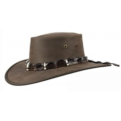 Outback Crocodile - 5 teeth band hats